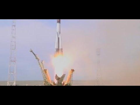 MISSION HORIZONS: Bilderbuchstart - Hier fliegt Alexander Gerst zur ISS