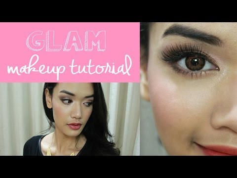Glam Makeup Tutorial [Indonesian Sub] | DXB ♡