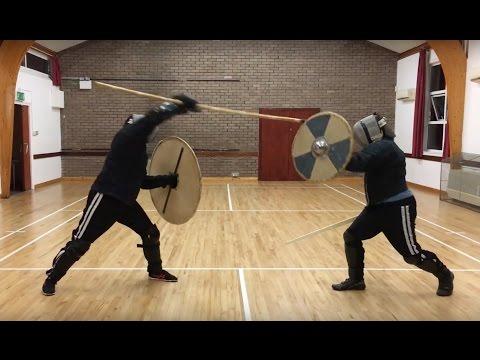 Spear & Shield vs Sword & Shield - YouTube