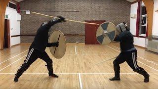 Spear & Shield Vs Sword & Shield