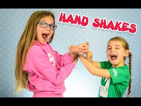 HANDSHAKES Kids Edition HAND CLAPS GAME Challenge Hand Exercises for kids