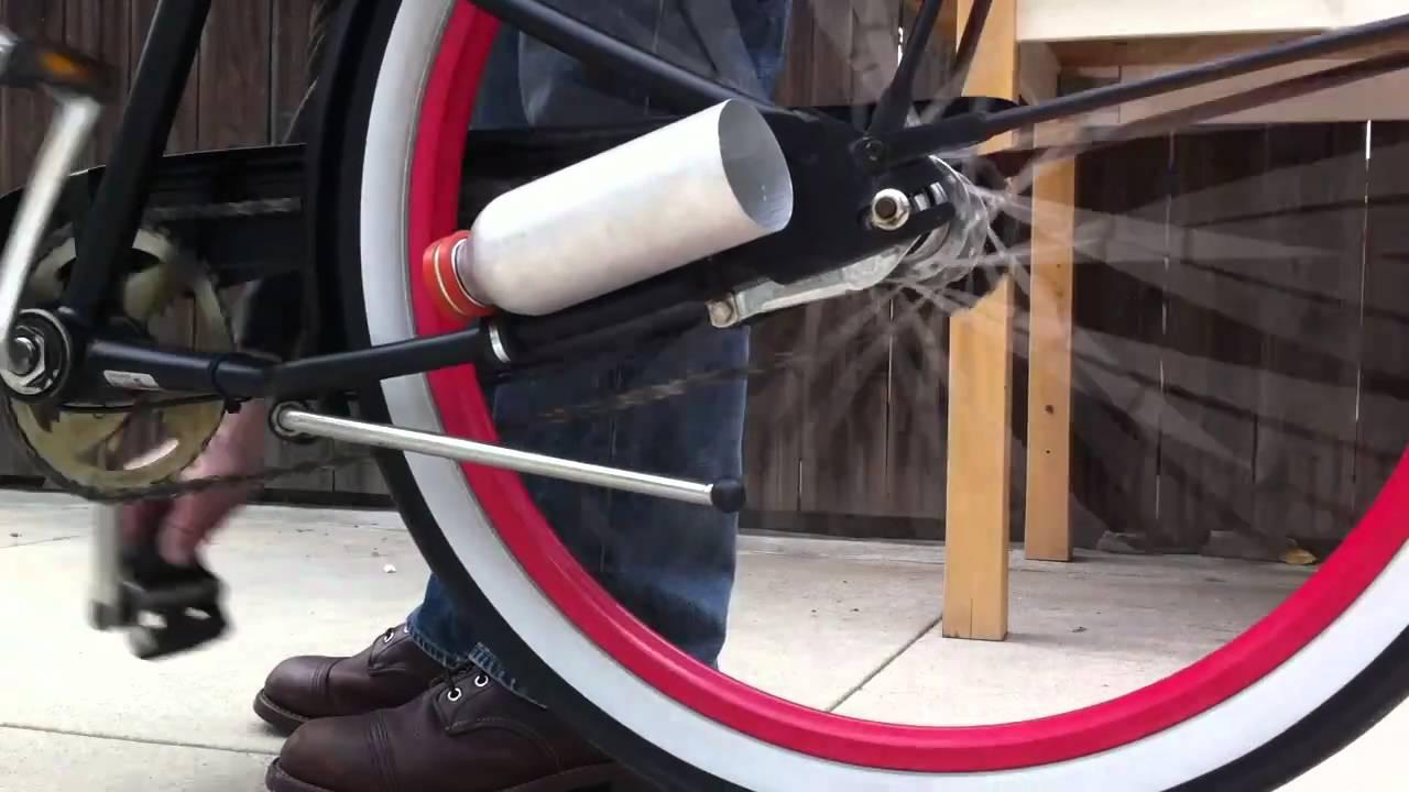 Make A Soda Bottle Bike Exhaust Make