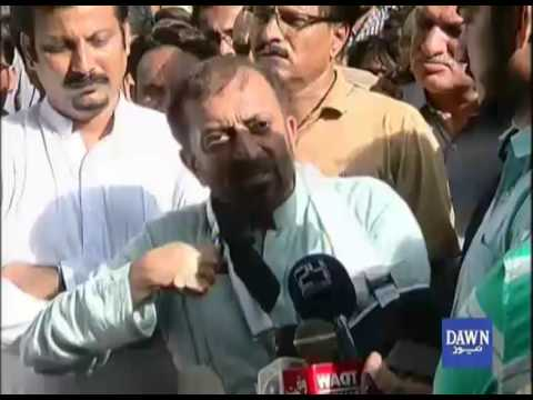 Farooq Sattar Press conference after Khuwaja Izhar Arrest