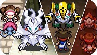 Pokemon Black Version 2 & White 2 - All Legendary Pokémon Locations (1080p60)