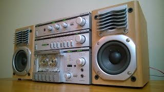 Repeat youtube video Reli's Ghettoblasters: Blaupunkt Micronic vintage hifi component system boombox