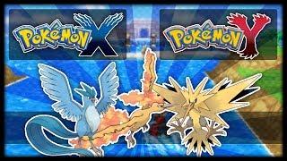 Pokémon X & Y: How to Catch the Legendary Birds