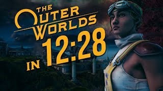 The Outer Worlds Any% Speedrun in 12:28