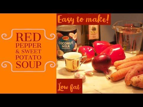 Red Pepper & Sweet Potato Soup November 2018