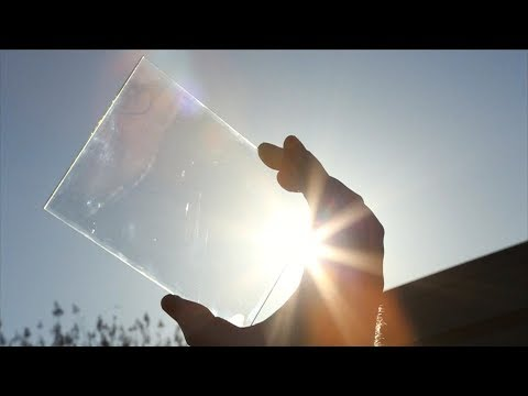 Transparent Solar Panels - Quick Bytes