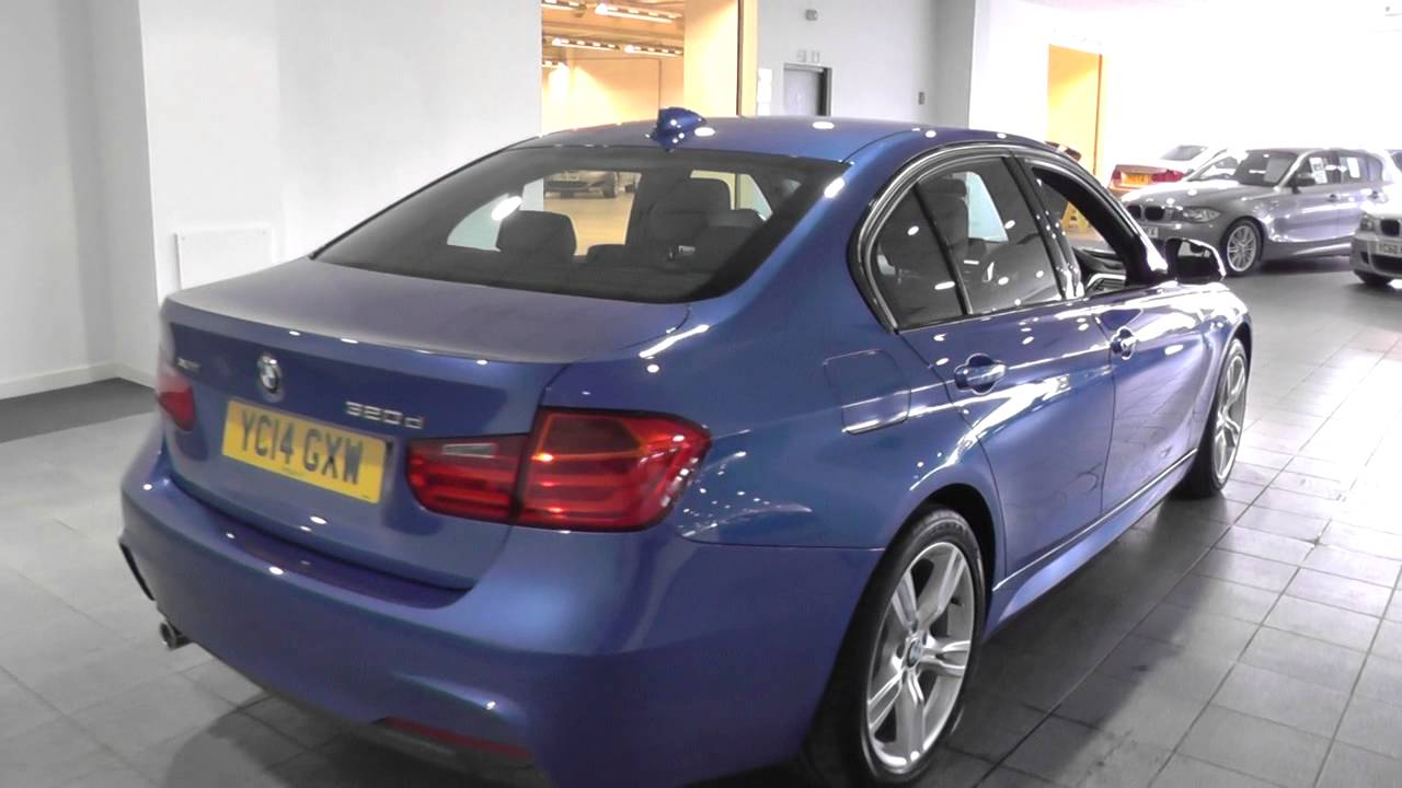 bmw 3 series saloon f30 320d xdrive m sport saloon n47 z3hf u3987 youtube. Black Bedroom Furniture Sets. Home Design Ideas