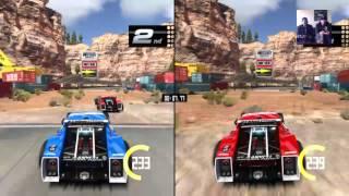 Let's Play Trackmania Turbo - 2 Player Mayhem - Live Stream
