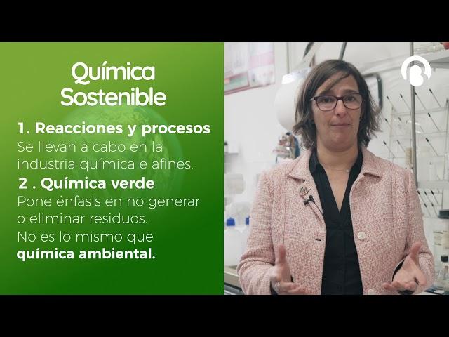 Química Sostenible |  Isabel Díaz | CienciaCreActiva | Bio3