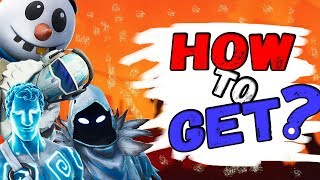 How to Get FULL FREE SET in Fortnite Battle Royale?!