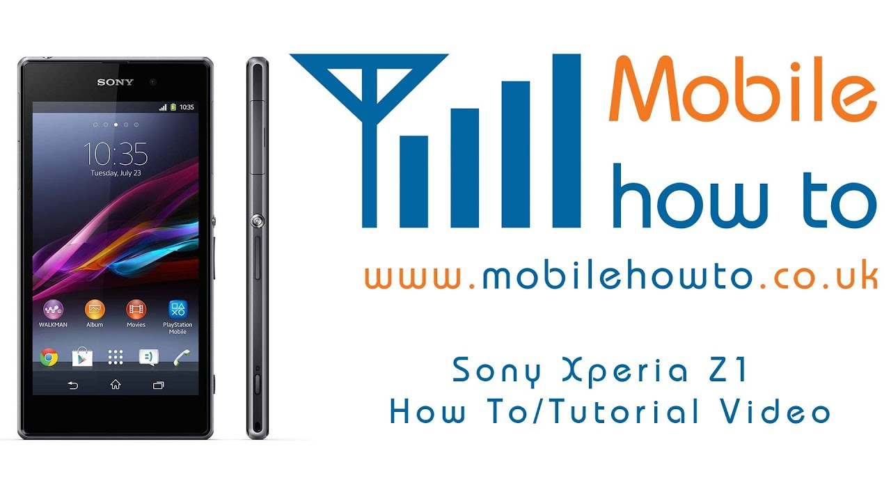 How To Change Background Wallpaper Sony Xperia Z1 Youtube