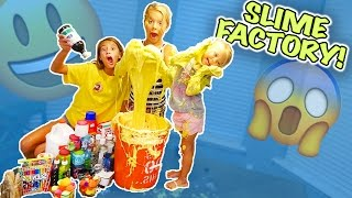 We made Aydah's dreams come true today by making her a slime factor...