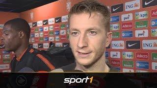 Reus rechtfertigt spate Einwechslung, 23 Niederlande - Deutschland SPORT1