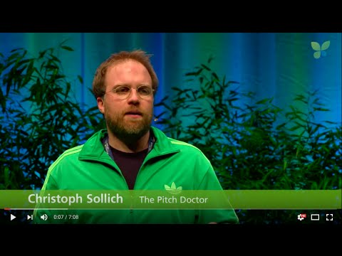 ECO16 Berlin: The Pitch Doctor Christoph Sollich pitches Berlin