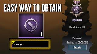 How to get Deadeye title in pubg mobile lite 0.14.1   Conqueror gameplay screenshot 1