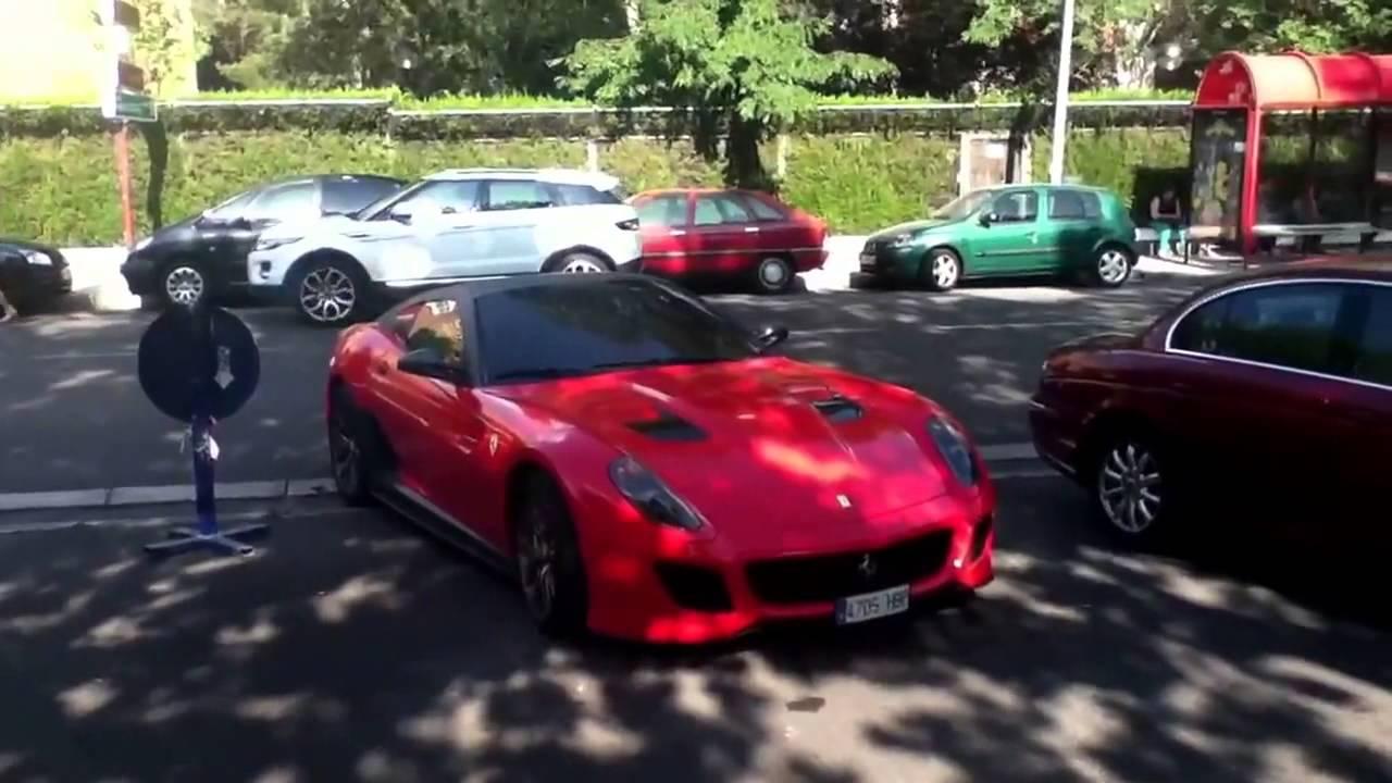 Ferrari 599 Gto De Cr7 2013 Vermelho Youtube