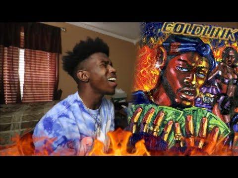 GoldLink - Crew REMIX ft. Gucci Mane (REACTION)