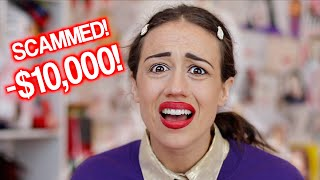 I GOT SCAMMED $10,000 BY A FAN!