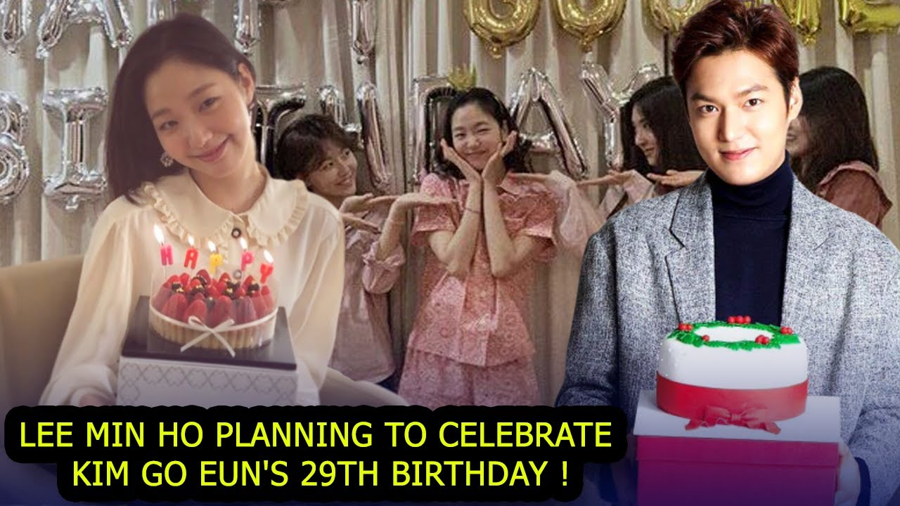 Lee Min Ho Planning to Celebrate Kim Go Eun's 30th Birthday (Fans Expectation)
