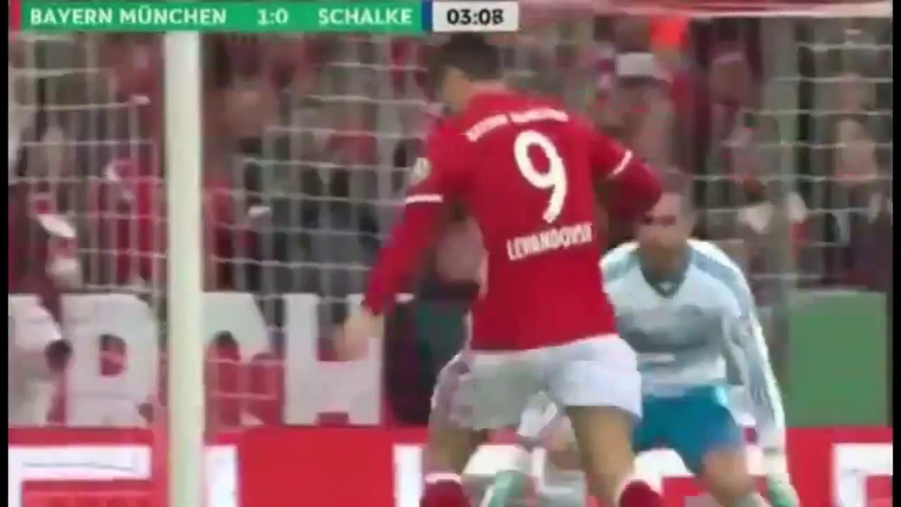 Download Bayern Munich vs Schalke 3 x 0 - doblete de lewandowski
