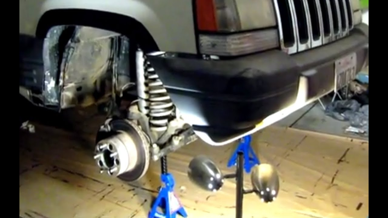 Jeep Grand Cherokee 4x4 Project ZJ Part 3 Iron Rock Offroad OTK Steering  IRO Upper Lower Ball Joints