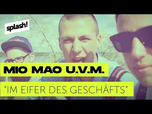 Mio Mao, Pimf & Waldo The Funk feat. Ecke Prenz - Im Eifer des Geschäfts (splash! Mag TV)