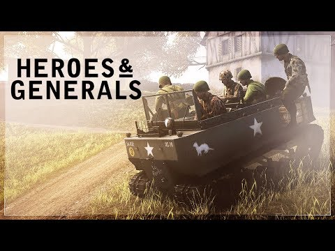 Heroes and Generals - I'm a hero but not yet a general