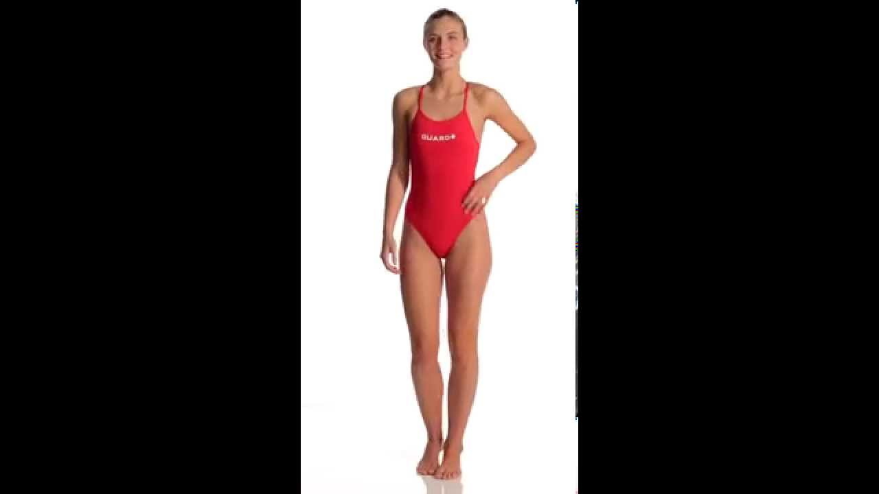56b2ec4e718e1 TYR LifeLifeguard Durafast Lite Crosscutfit One Piece Swimsuit ...