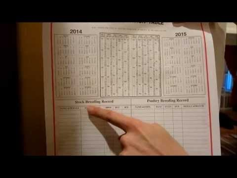 Farmers almanac calendar a11 youtube for Farmers almanac fishing calendar