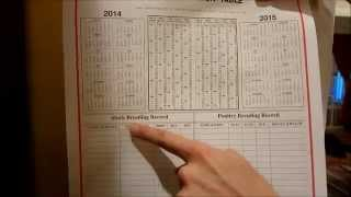 Farmers Almanac Calendar A11