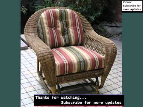 Wicker Gliders Outdoor Seating