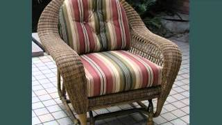 Wicker Gliders : Outdoor Seating Wicker Gliders