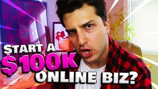 """How to Make $100K a Year Online Business (4 Step """"SLRC"""" Method)"""
