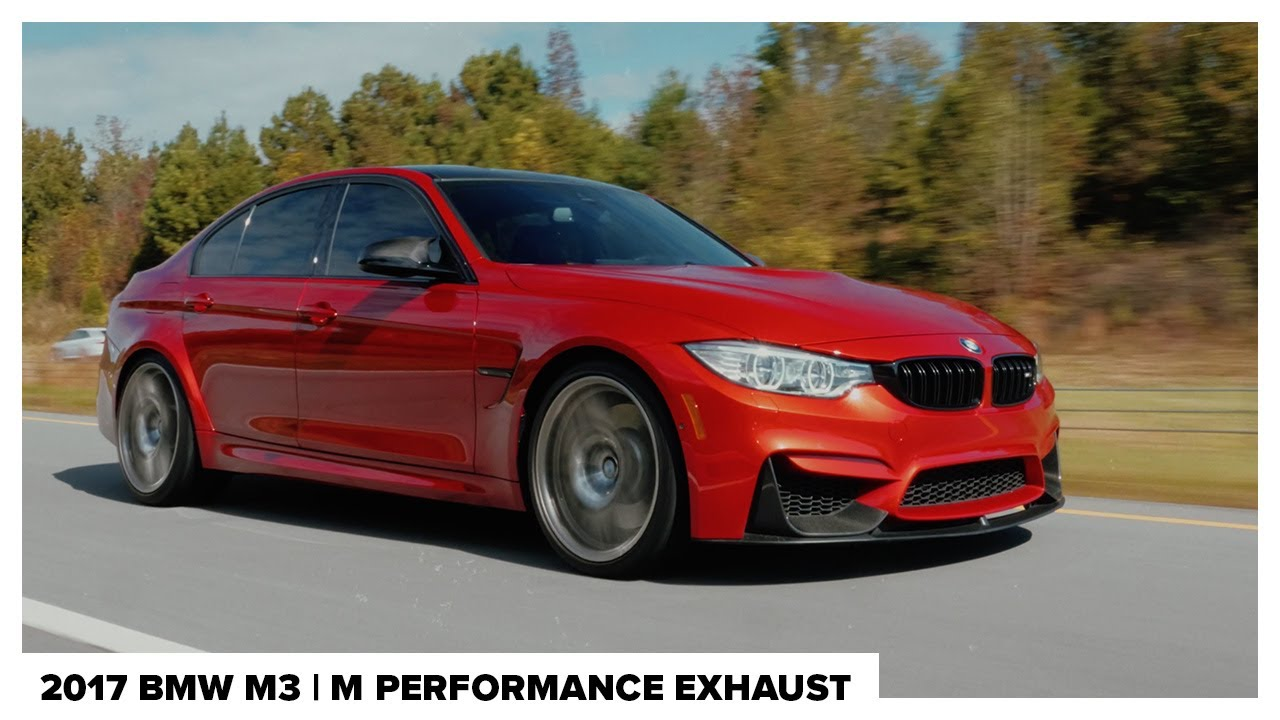 2017 BMW M3 | M Performance Exhaust | 4K