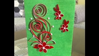 DIY Quilled Paper Gift Bag #15