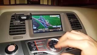 Навигационные карты Nissan Infiniti 2007-2010 DVD