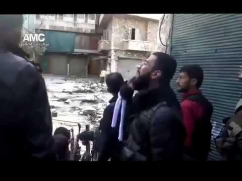 Азан во время стрельбы в Сирии