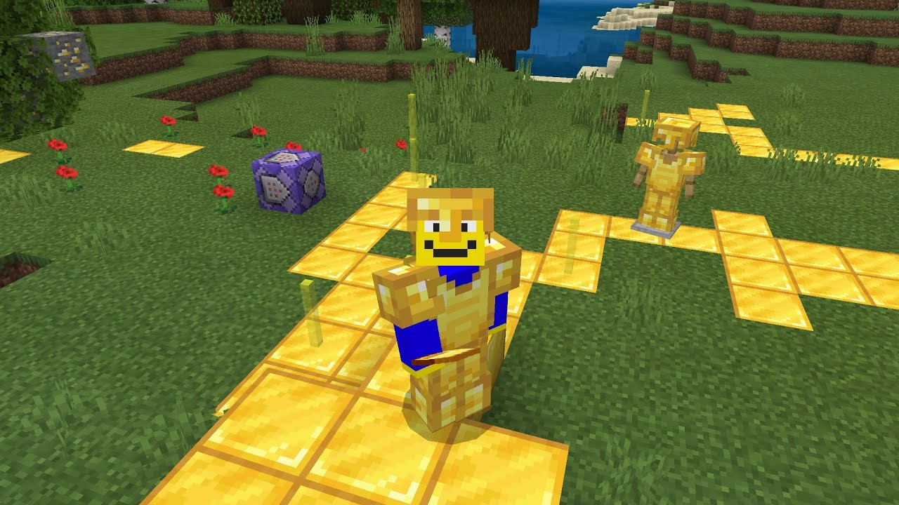 Midas Touch function pack for minecraft bedrock edition