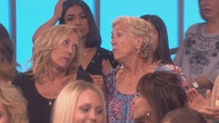ellen listening to audience