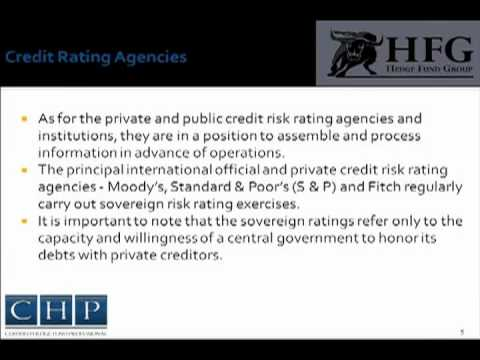 Sovereign Risk | Certified Hedge Fund Professional (CHP)