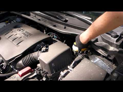 How To Check Power Steering Oil Toyota Corolla Years 2
