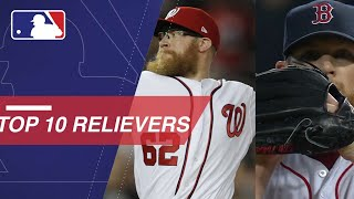Top 10 Relievers Right Now