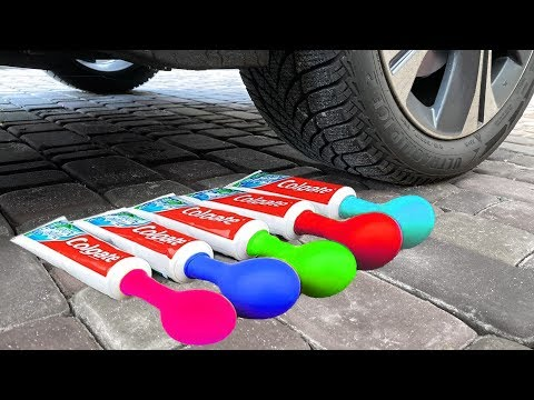 experiment-car-against-toothpaste-and-balloons