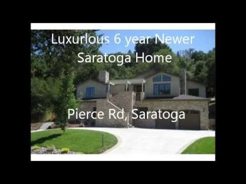 Luxury 6 year Newer Saratoga Home