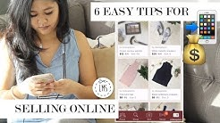 How To Sell Your Stuff Online | 6 Steps To Making A Sale