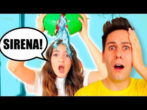ANGURIA CHALLENGE CON L'ACQUA!!
