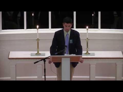 Cardigan Mountain School Opening Ceremony 2015